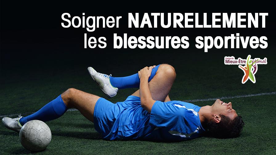 Soigner naturellement les blessures sportives